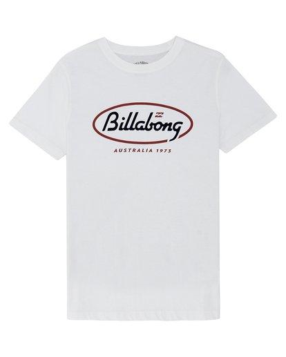 2 State Beach - Camiseta para Niño Blanco S2SS19BIP0 Billabong