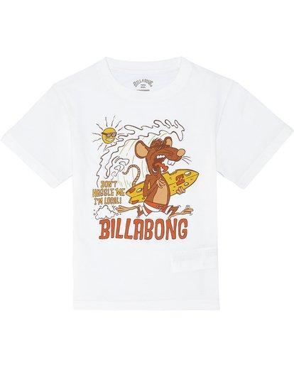 2 Rat Local  - T-Shirt for Boys White S2SS20BIP0 Billabong
