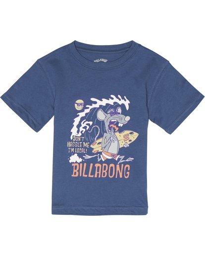 2 Rat Local  - T-Shirt für Jungen Blau S2SS20BIP0 Billabong