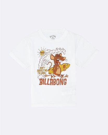 0 Rat Local  - T-Shirt for Boys White S2SS20BIP0 Billabong