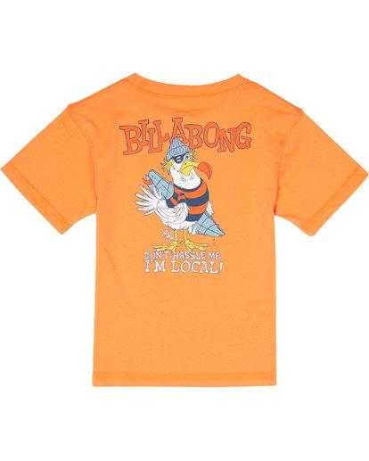 3 Kriss  - Camiseta para Niño Naranja S2SS21BIP0 Billabong