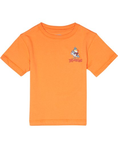 2 Kriss  - Camiseta para Niño Naranja S2SS21BIP0 Billabong