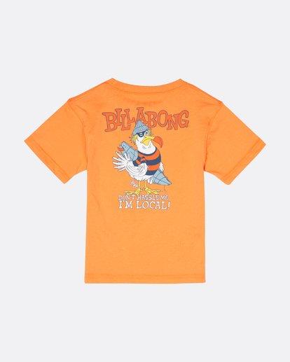 1 Kriss  - Camiseta para Niño Naranja S2SS21BIP0 Billabong