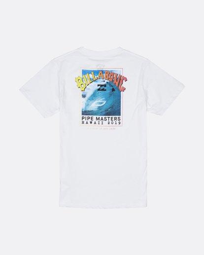1 Pipe Master - T-Shirt for Boys White S2SS23BIP0 Billabong
