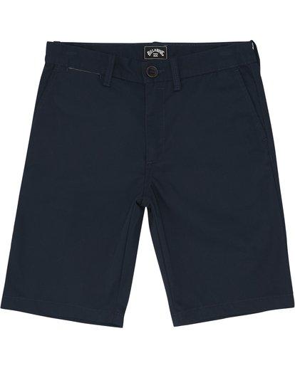 """2 Carter 17"""" - Shorts für Jungen Blau S2WK11BIP0 Billabong"""