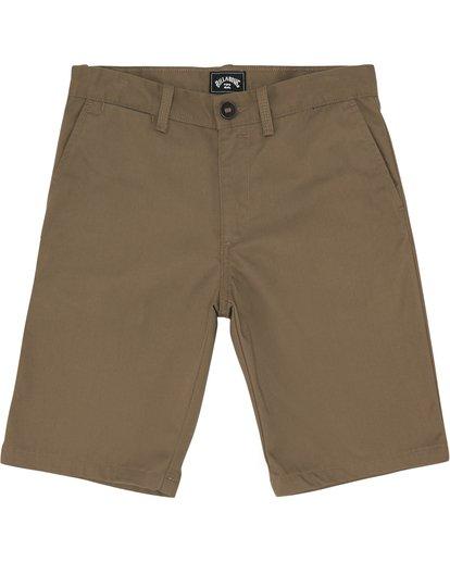 """2 Carter 17"""" - Pantalones cortos para Niño Verde S2WK11BIP0 Billabong"""