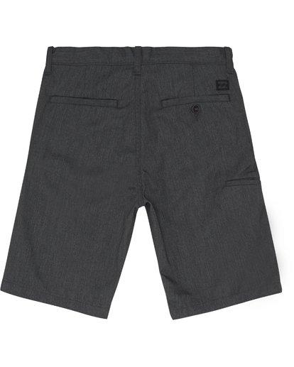 """3 Carter 17"""" - Pantalones cortos para Niño Negro S2WK11BIP0 Billabong"""