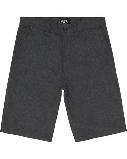 """2 Carter 17"""" - Pantalones cortos para Niño Negro S2WK11BIP0 Billabong"""
