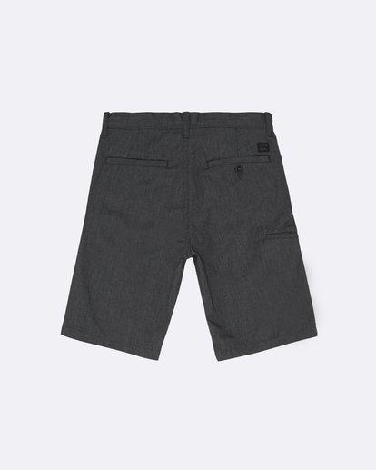 """1 Carter 17"""" - Pantalones cortos para Niño Negro S2WK11BIP0 Billabong"""