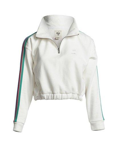 3 Finding Waves - Half Zip Sweatshirt for Women White S3CR01BIP0 Billabong