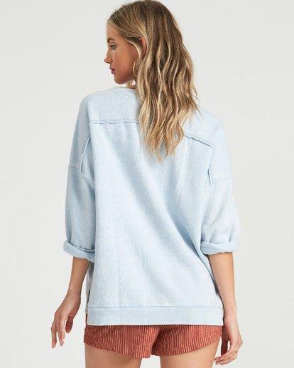 1 Eco Fleece - Sweatshirt für Damen Blau S3CR03BIP0 Billabong