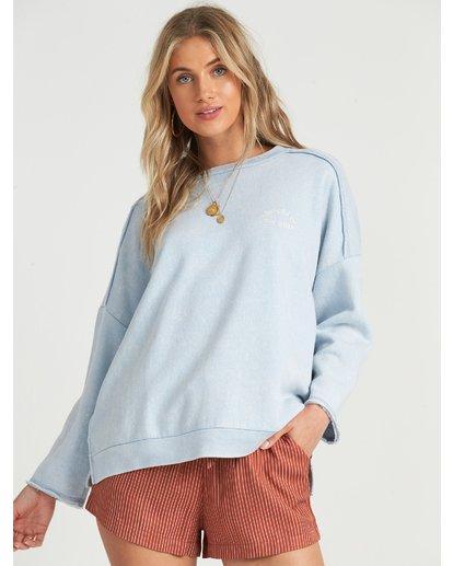 2 Eco Fleece - Sweatshirt für Damen Blau S3CR03BIP0 Billabong