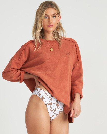 1 Eco Fleece - Sweatshirt für Damen Braun S3CR03BIP0 Billabong