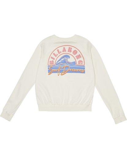 3 Laguna Beach - Sudadera con estampado gráfico para Mujer Blanco S3CR07BIP0 Billabong