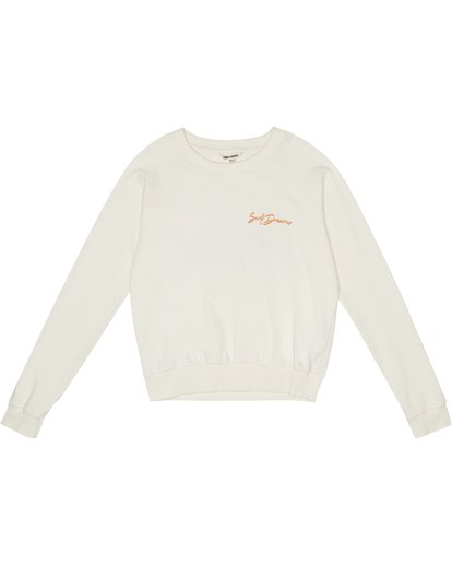 2 Laguna Beach - Sweatshirt für Damen Weiss S3CR07BIP0 Billabong