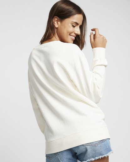 2 Blissed Out - Sweatshirt für Damen Weiss S3CR12BIP0 Billabong