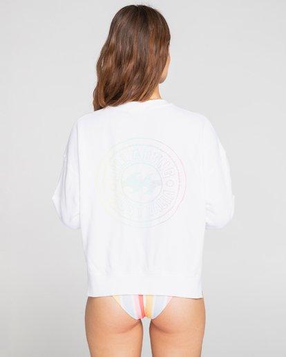 4 Native - Sweatshirt for Women Blanco S3CR50BIMU Billabong