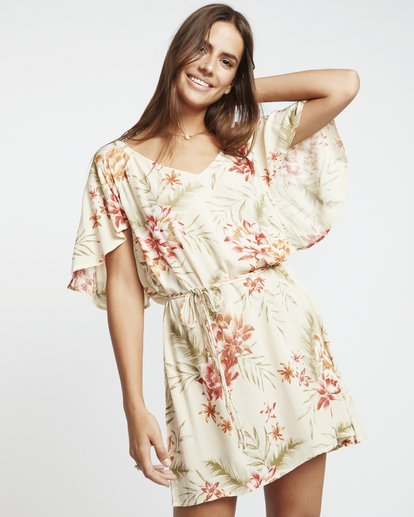 1 Fine Flutter - Vestido para Mujer Multicolor S3DR01BIP0 Billabong
