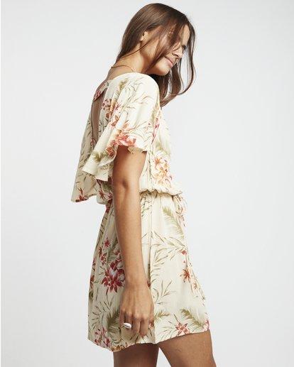 3 Fine Flutter - Vestido para Mujer Multicolor S3DR01BIP0 Billabong