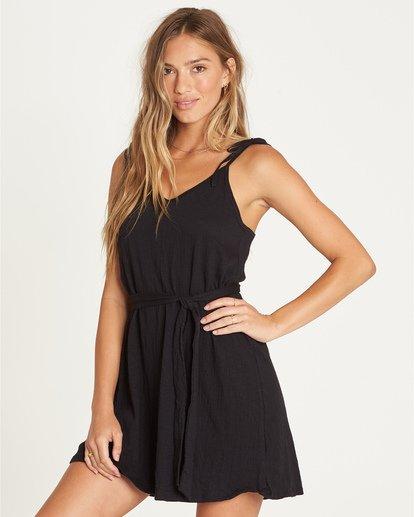 1 Going Steady - Robe pour Femme Noir S3DR02BIP0 Billabong