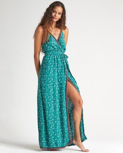1 Soft Seas - Maxikleid mit Muster für Damen Blau S3DR08BIP0 Billabong