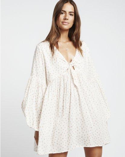 1 Blissfull - Vestido para Mujer Blanco S3DR16BIP0 Billabong