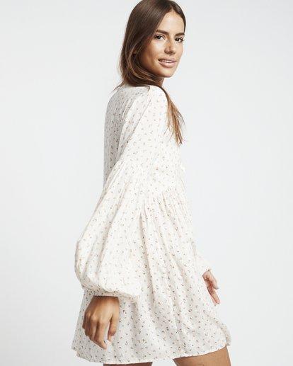 3 Blissfull - Vestido para Mujer Blanco S3DR16BIP0 Billabong