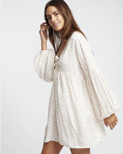 4 Blissfull - Vestido para Mujer Blanco S3DR16BIP0 Billabong