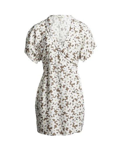 2 Wander Beyond - Floral Wrap Dress for Women Brown S3DR22BIP0 Billabong