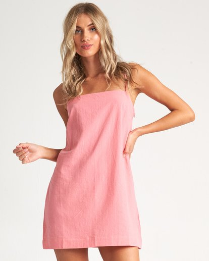 1 Sunset Cotton Dress - Vestido para Mujer Rosa S3DR30BIMU Billabong