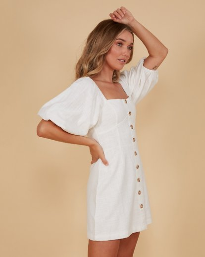 3 White Sand - Dress for Women White S3DR48BIMU Billabong