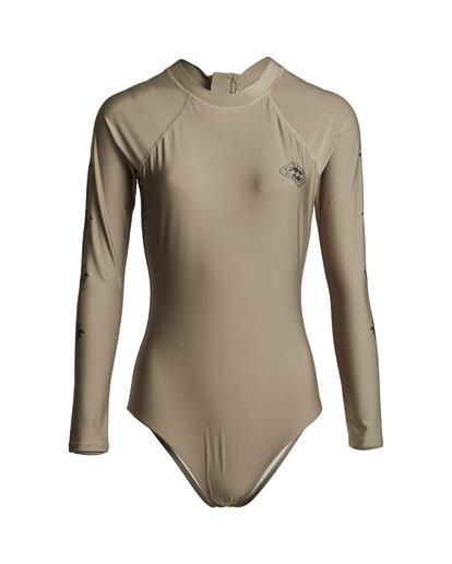 3 Core Mock Neck Bdyst - Surf-Anzug für Damen Grün S3GY03BIP0 Billabong