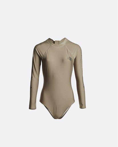 2 Core Mock Neck Bdyst - Surf-Anzug für Damen Grün S3GY03BIP0 Billabong
