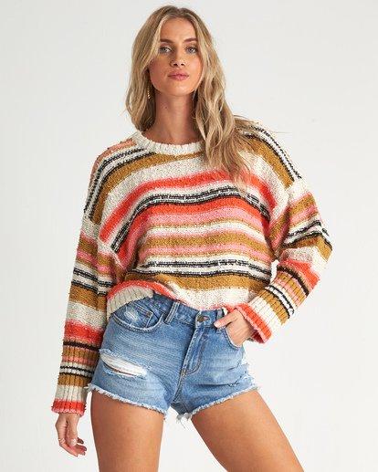 1 Easy Going - gestreifter Pullover für Damen  S3JP04BIP0 Billabong