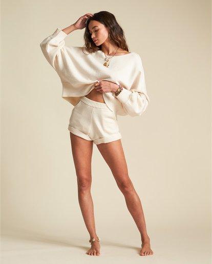 2 Match Maker Sweater - Oversized Sweatshirt für Damen Beige S3JP07BIP0 Billabong