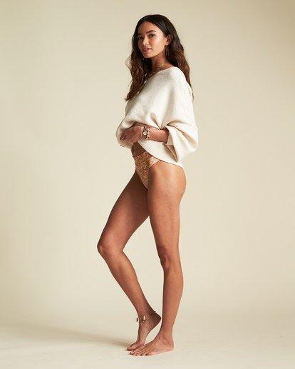 3 Match Maker Sweater - Oversized Sweatshirt für Damen Beige S3JP07BIP0 Billabong