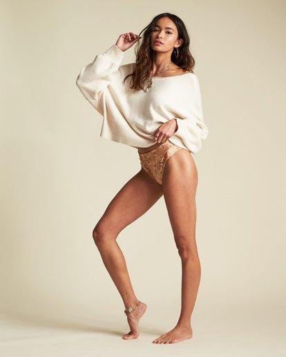 4 Match Maker Sweater - Sudadera holgada para Mujer Beige S3JP07BIP0 Billabong