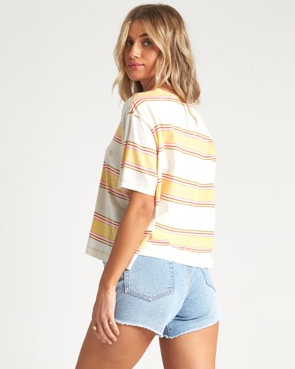 1 Soul Babe 2 - Striped T-Shirt for Women Multicolor S3KT02BIP0 Billabong