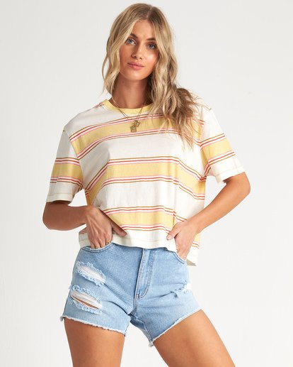 Soul Babe 2 - Striped T-Shirt for Women  S3KT02BIP0