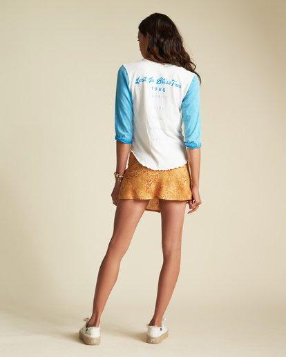 2 Scenic Pastime - Camiseta con mangas raglán para Mujer Azul S3KT08BIP0 Billabong