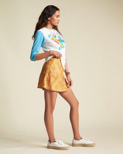 3 Scenic Pastime - Camiseta con mangas raglán para Mujer Azul S3KT08BIP0 Billabong