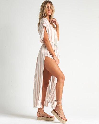 1 Wink Away - Vestido extra largo para Mujer Beige S3OS10BIMU Billabong