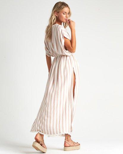 2 Wink Away - Vestido extra largo para Mujer Beige S3OS10BIMU Billabong