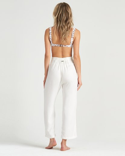 4 Casual - Cropped Trousers for Women White S3PT11BIP0 Billabong
