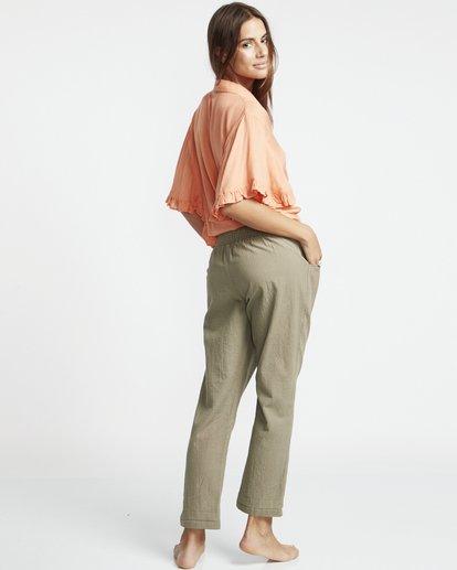 1 High Sun - Hosen für Damen Grün S3PT13BIP0 Billabong