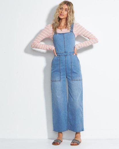 0 Ball In - Jeans-Overall für Frauen Blau S3PT27BIMU Billabong