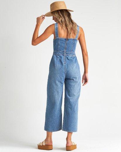 2 Ball In - Jeans-Overall für Frauen Blau S3PT27BIMU Billabong