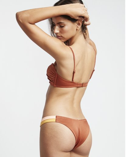 1 S.S Hike Side - Bikinihose für Damen Braun S3SB01BIP0 Billabong