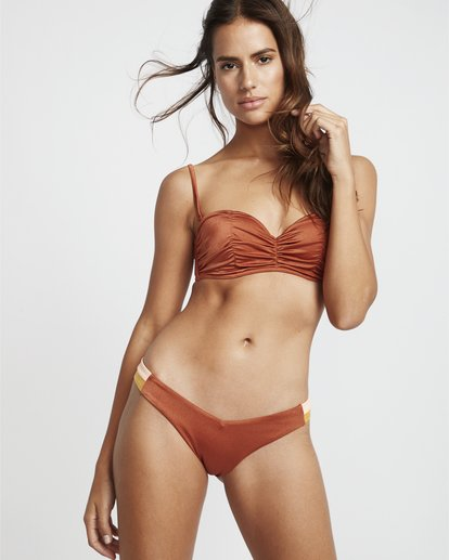 0 S.S Hike Side - Bikinihose für Damen Braun S3SB01BIP0 Billabong