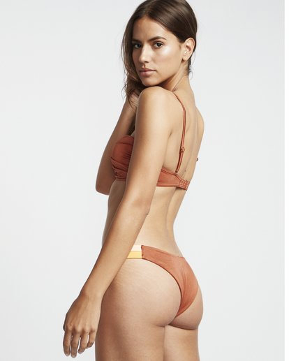3 S.S Hike Side - Bikinihose für Damen Braun S3SB01BIP0 Billabong